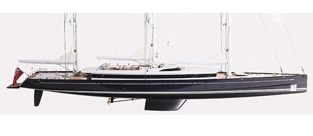 NEWS from Royal Huisman: The build has started!