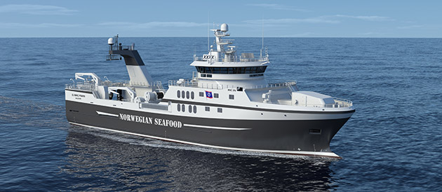 ROLLS-ROYCE TO DELIVER SHIP DESIGN AND EQUIPMENT TO A NEW FISHING VESSEL